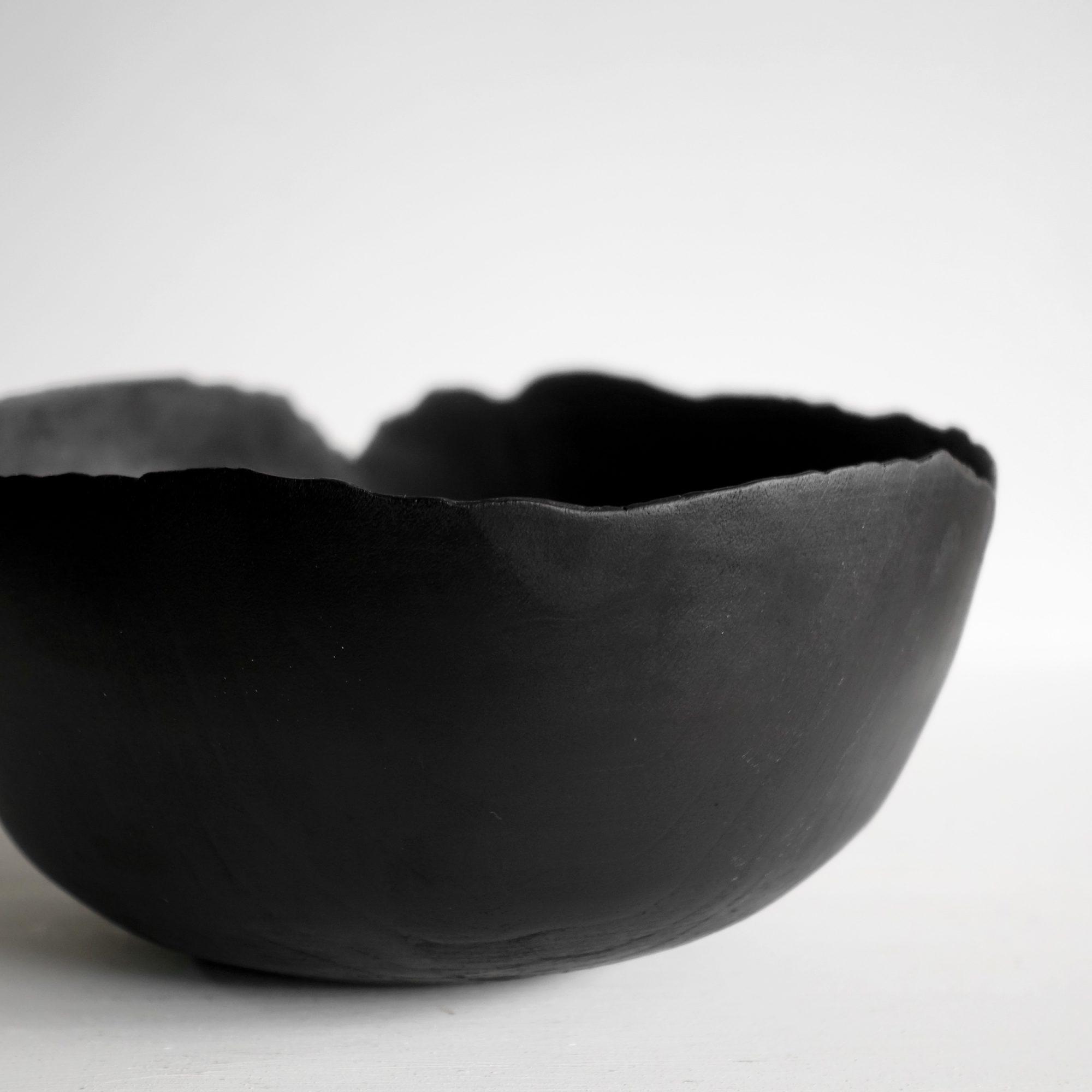 Thin black bowl 5